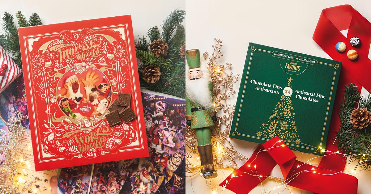 Advent Calendars Chocolats Favoris