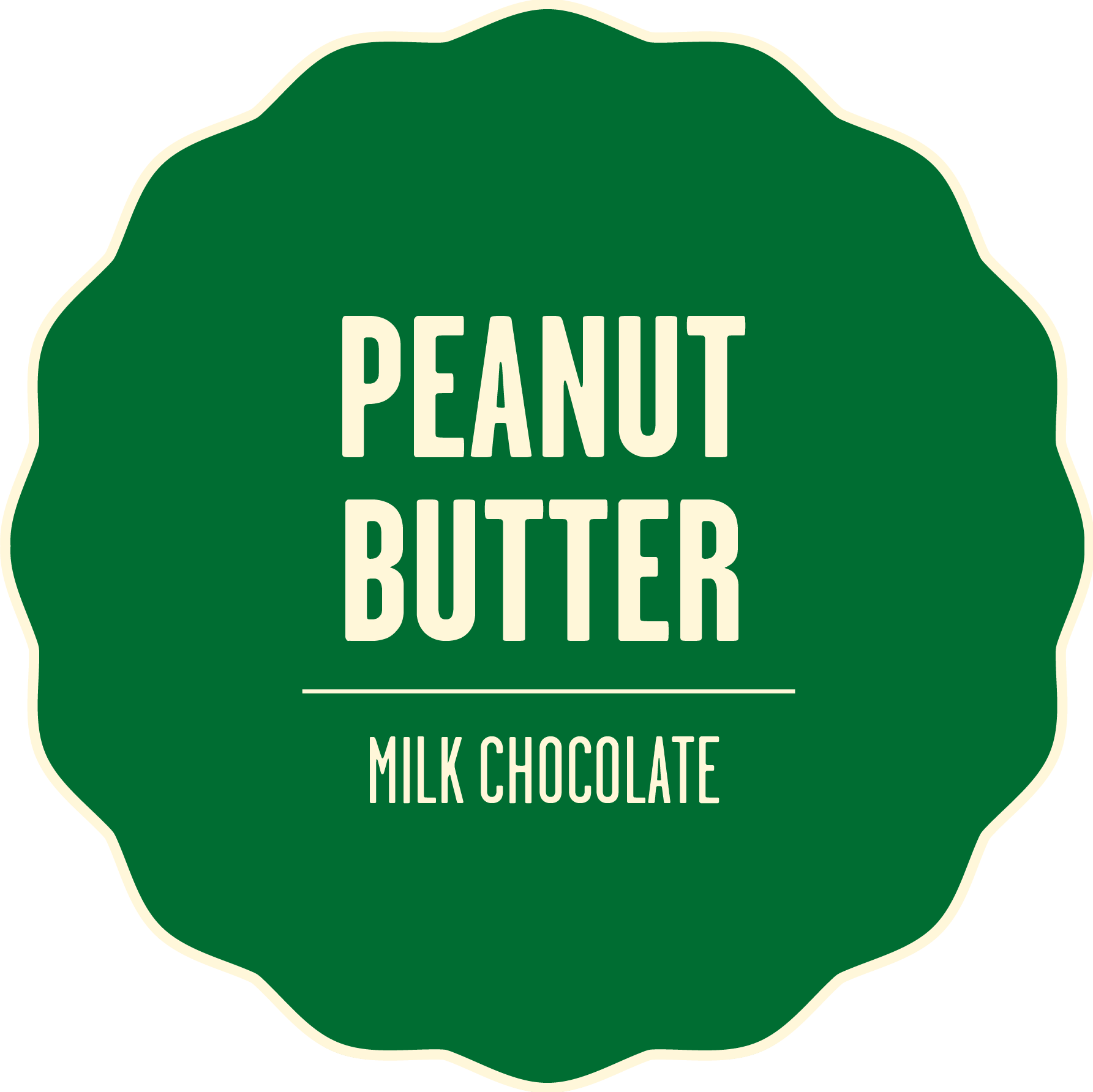 Milk chocolate peanut butter 2x