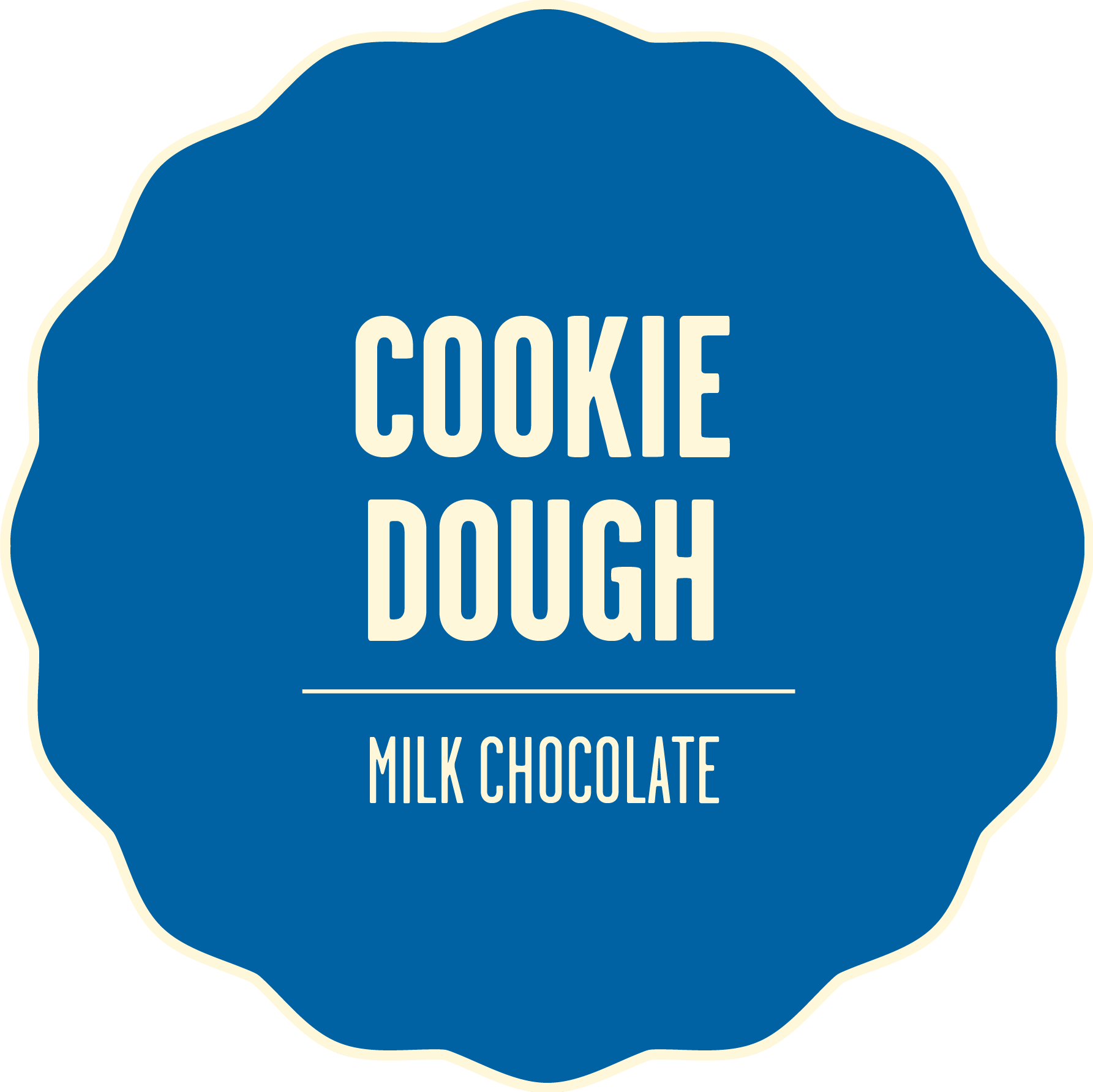 Milk chocolate cookie dough 2x