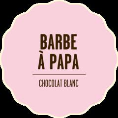 Chocolat blanc barbe papa 2x beige