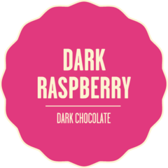 Dark chocolate dark raspberry 2x 1