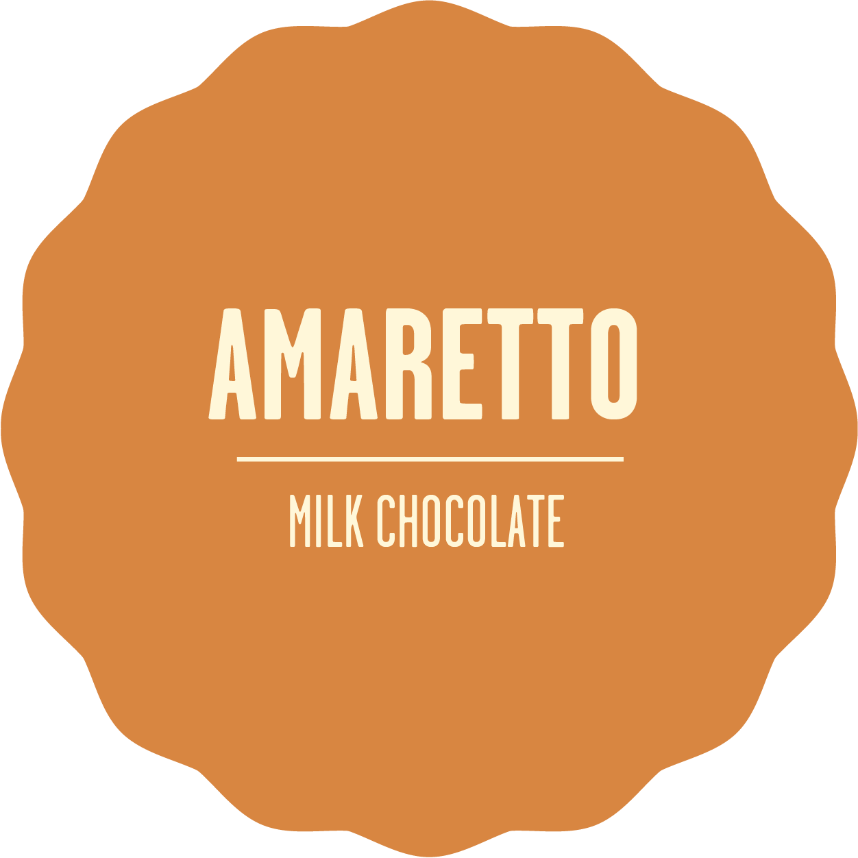 Milk chocolate amaretto 2x