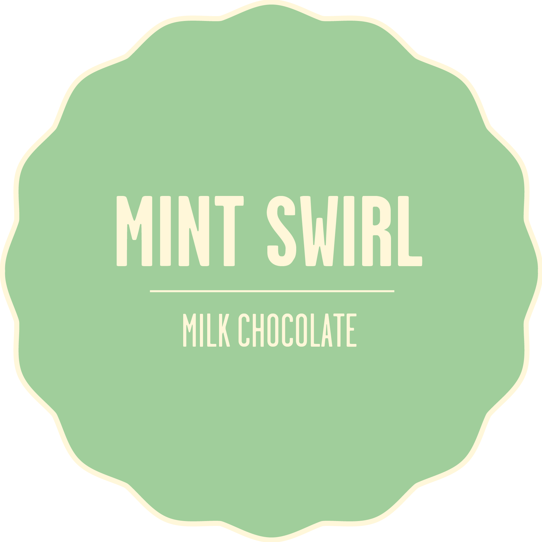 Milk chocolate mint 2x