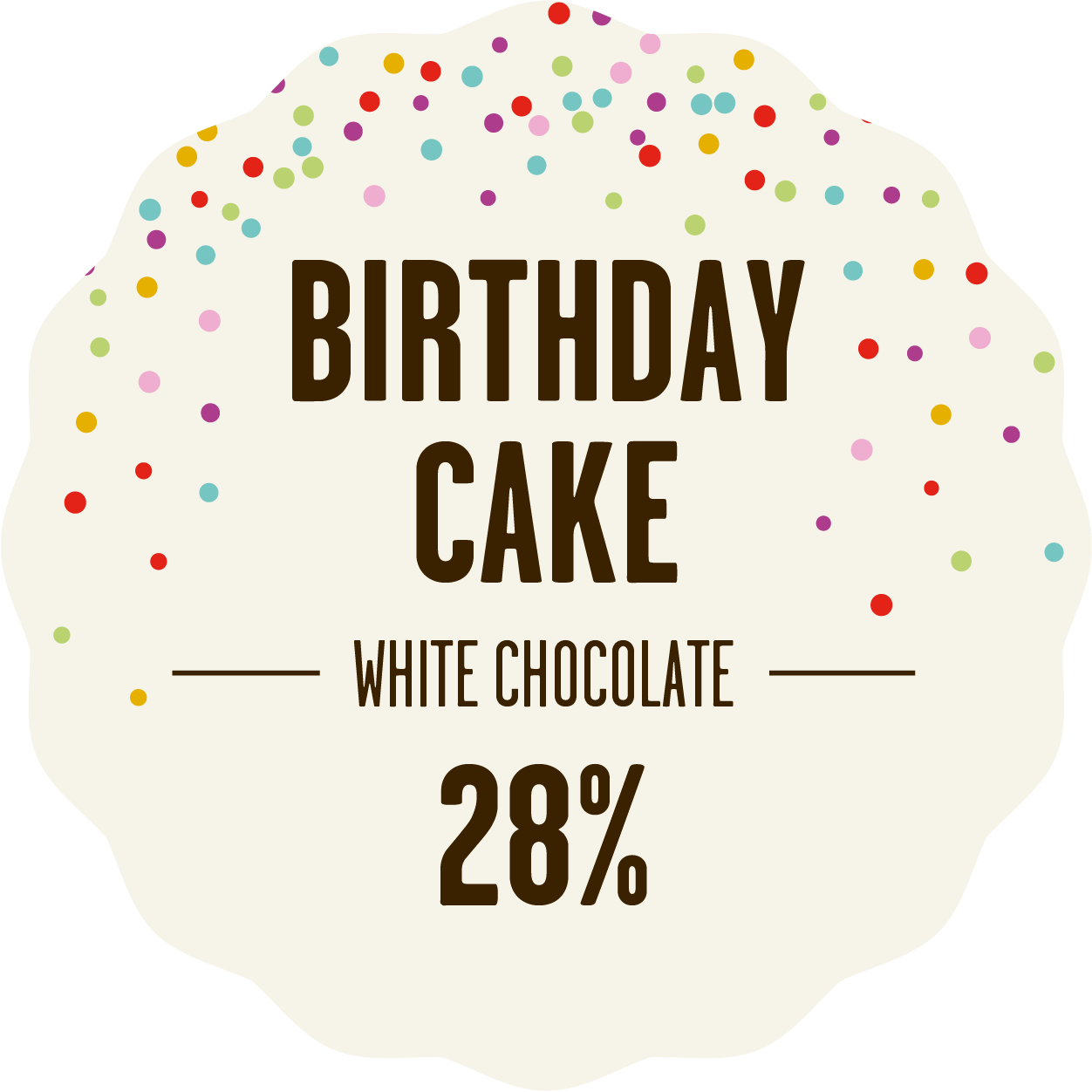 Collection white chocolate birthday cake 300px