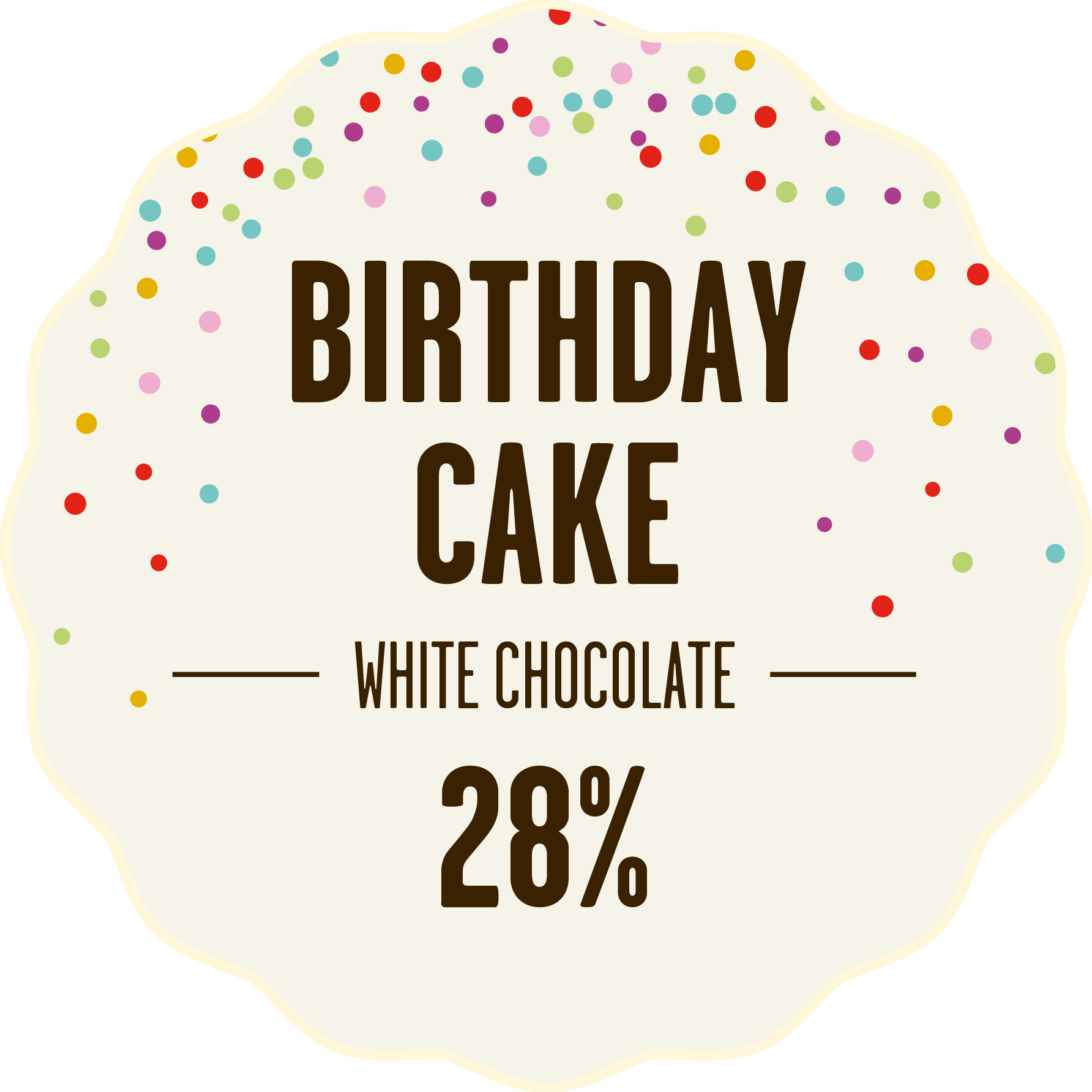 White chocolate birthday cake 428px