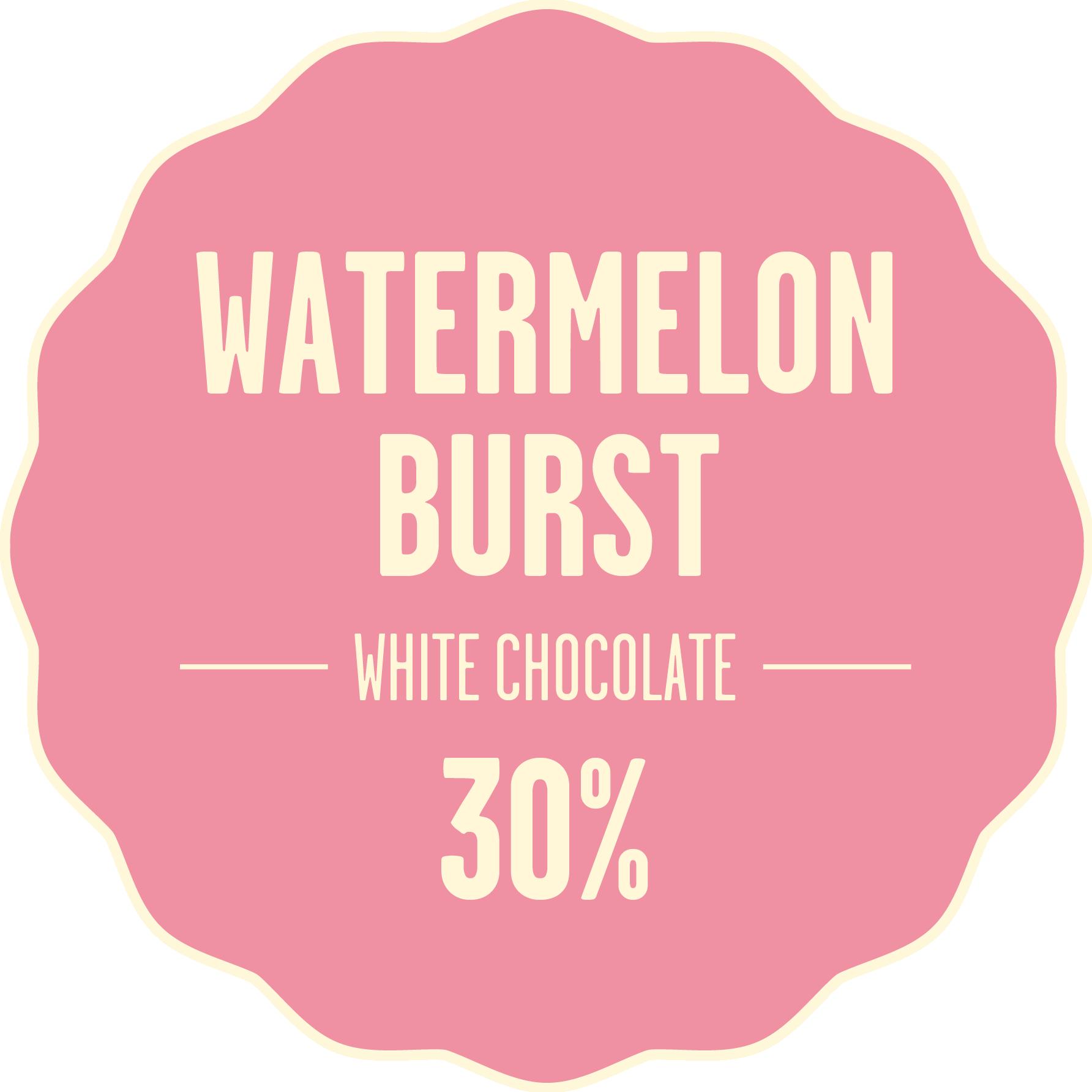 White chocolate bonbon melon 428px