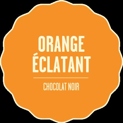 Chocolat noir orange eclatant 2x