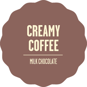 Milk chocolate creamy coffee 2x