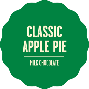 Milk chocolate classic apple pie 2x