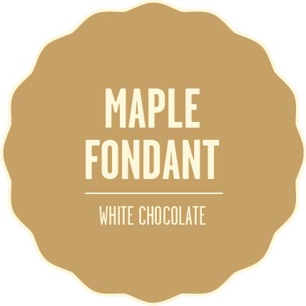 Chocolate fondues white chocolate maple fondant 2x