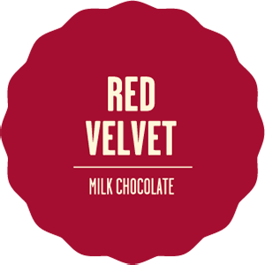 Milk chocolate red velvet 2x